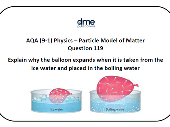 AQA GCSE Combined Science Trilogy (Physics) Study and Revision Cards - Paper 5