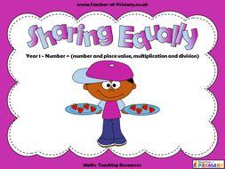 Sharing Equally - Year 1