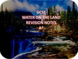 gcse geography revision notes pdf