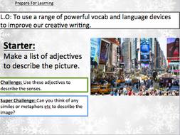 Buddy The Elf - Creative Writing Christmas Lesson