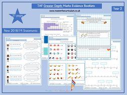 Year 2- Greater Depth TAF (Teacher Assessment Framework) Evidence Booklet