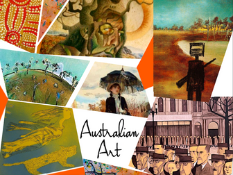 Australian Art History ~ 182 Slides ~ Highly Visual & Annotated ~ Australia
