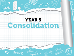 Year 5 Maths: Summer Term Consolidation Pack - White Rose Maths