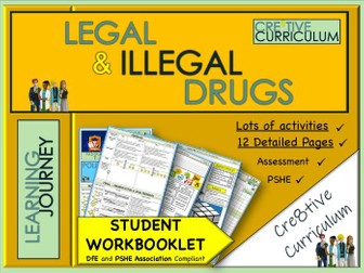 Drugs Workbook KS3 - PSHE