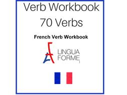 French Verb Workbook 70 Verbs