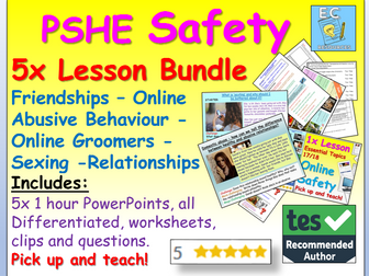 Managing risks: Relationships & Personal Safety PSHE
