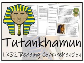 LKS2 History - Tutankhamun Reading Comprehension Activity