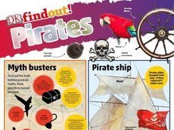 Free DKfindout Pirates Poster KS2