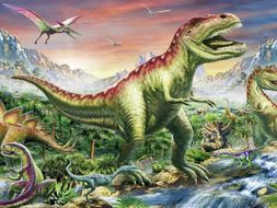 Dinosaur invasion (Year 4 x2 lessons)