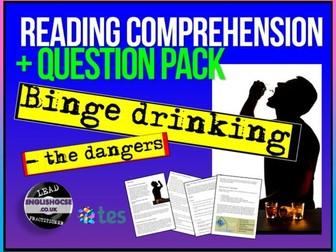 Binge Drinking Reading Comprehension