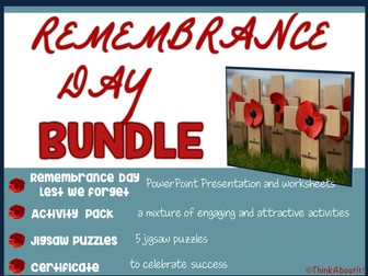 Remembrance: Remembrance Day Bundle