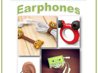 Year 7 Project Booklet - Earphones Tidy