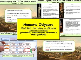 Homer's Odyssey – Book VII: The Palace of Alcinous (characters & themes)