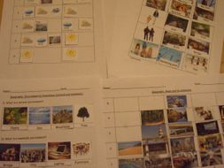 Maps, Environmental Awareness, Weather, Rainforest for SEN, Early Years