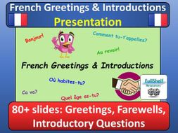 French greetings introductions presentation by fullshelf french greetings introductions presentation m4hsunfo