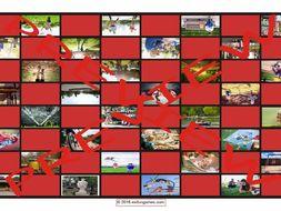 Parks Checker Board Game