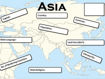 A Country in Asia Fact File