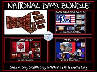 National / Independence Days: Bundle