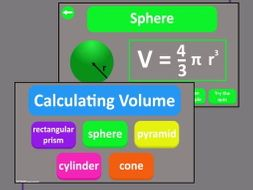 Volume of 3D Shapes Interactive Maths PDF