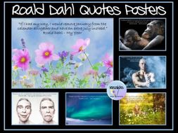 Roald Dahl Quotes' Posters