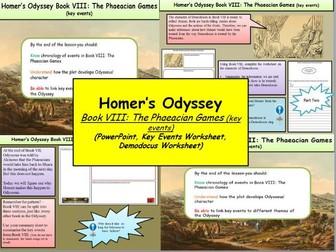 Homer's Odyssey – Book VIII: The Phaeacian Games (key events)