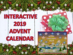 2019 Advent Calendar - Christmas Countdown