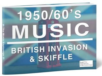 1950/60s Music: British Invasion & Skiffle-FULL LESSON