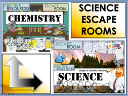 Chemistry Science Escape Rooms
