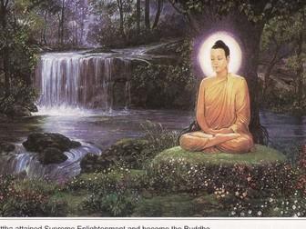 New AQA GCSE RE - Buddhist beliefs - The Buddha's enlightenment UPDATED