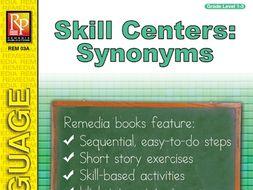 Skill Centers: Synonyms