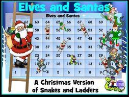Christmas Maths Game: Elves and Santas