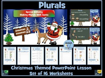 Plurals - Christmas Themed