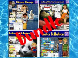 Human Impact Bundle - no prep lessons