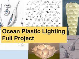 Ocean Plastic Lighting Project