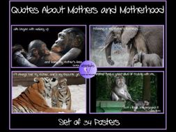 Mothers Day Quote Posters