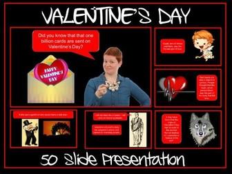 Valentine's Day Presentation - Secondary Pupils