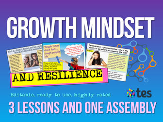 Growth Mindset: Growth Mindset + Resilience