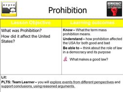 Prohibition - What makes a Good Law? Homer Simpson versus the Eighteenth Amendment - Full Lesson