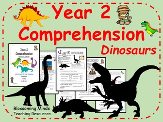 Year 2 SATs Comprehension - Dinosaurs