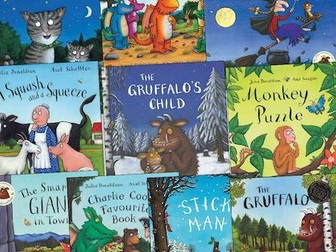 Julia Donaldson stories page borders