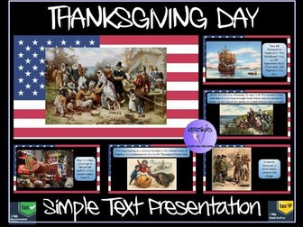 Thanksgiving Day Presentation