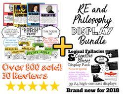 Comprehensive RE/Philosophy Classroom Display Bundle