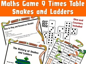 Maths Game Snakes and Ladder