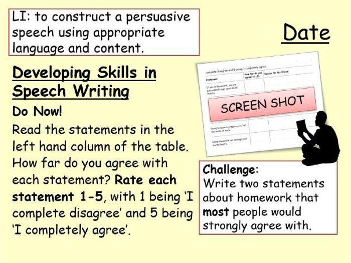 speech writing help