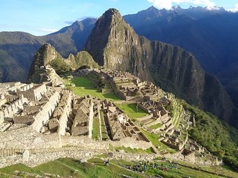 Machu Picchu Lectura Cultural - Spanish Reading + Video Link
