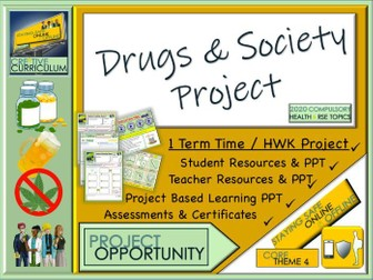 Drugs and Society Project
