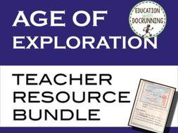 Age of Exploration Teacher Resource Bundle
