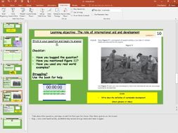 L5- International Aid Nigeria (Unit 2, Section B, pt 2/3, NEE Case study) - [AQA GCSE GEOG new spec]