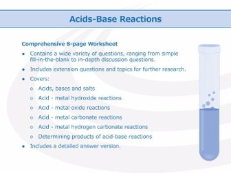 acids and bases worksheet bundle by goodscienceworksheets teaching resources tes. Black Bedroom Furniture Sets. Home Design Ideas
