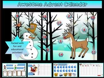Awesome Christmas Advent Calendar! Take a peek...